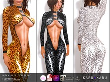 KARU KARU - Latex Suit Felicia LEOPARD EDITION