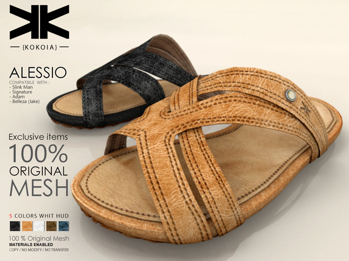 Alessio :: Male Shoes :: 5 Colors :: {kokoia}