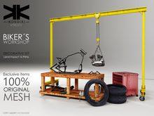 Atrezzo :: Bikers Workshop :: {kokoia}