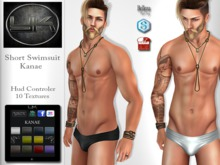 YACK - Mens MESH Short Swimsuit Kanae
