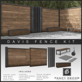 Fancy Decor: Davis Fence Kit