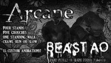 -<{{Arcane Animations}}>- Beast AO. Werewolf. Lycan. Crawl Animation. Sense. Hybridera. Har Ta