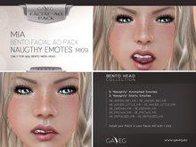 [GA.EG] Mia Bento Facial AO Pack - MI09 Naughty Emotes