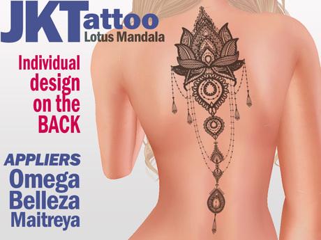 tattoo rücken mandala