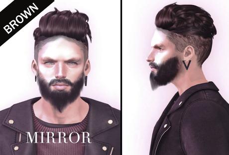 MIRROR - Bryan Hair -Brown Pack-