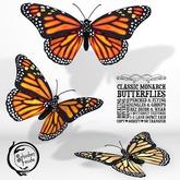 Schadenfreude Classic Monarch Butterflies