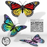 Schadenfreude Mix Monarch Butterflies