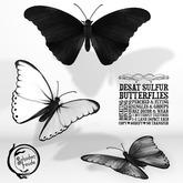 Schadenfreude Desat Sulfur Butterflies