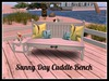 Sunny Day Bench with ~ Cuddle PROMO