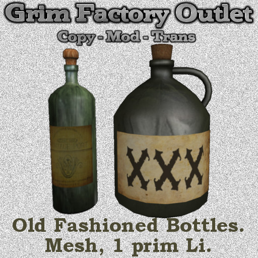 Old Fashioned Bottles (Boxed)