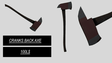 Cranks - Back Axe
