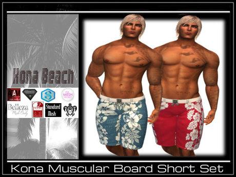 ~KONAS~ Muscular Shorts Set # 3