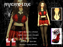 [F] Arachno Love Outfit  - Slink Only