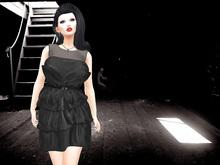 [F] DEMO Rosemary  Layered Ruffled Dress w/ HUD