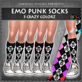 *NT* Emo Punk Socks (Neko Style)