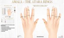 Amala - The Atara Stacking Rings
