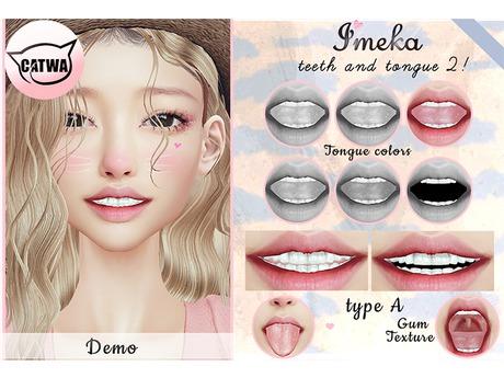 {Imeka} Teeth and Tongue 2 - Type A - DEMO