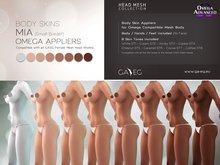 [GA.EG] Mia Body Skins - Full Pack - Omega Appliers