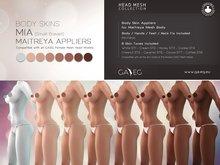 [GA.EG] Mia Body Skins DEMO - Full Pack - Maitreya Appliers