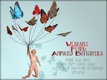 Boudoir - Wearable Flying Butterflies