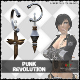 *NT* punk revolution (Earrings Goth Punk Style)