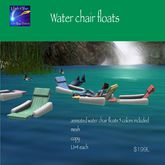 Sunbathe water float chairs 5 pack -crate