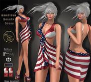 ***ArisArisB&W~American Beauty Dress~