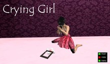 [MC] Pose - Crying Girl