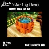 Frozen's Cedar Hot Tub
