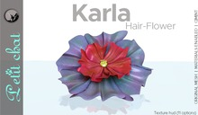 *PC* Karla Hair-Flower