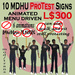 10 MDHU Protest Signs  box - Animated