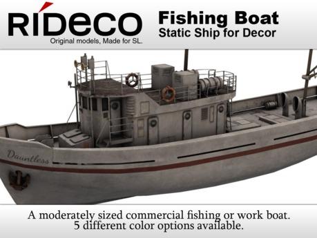 RiDECO - Fishing Boat