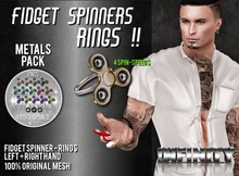 !NFINITY Fidget Spinner RING - METALS PACK