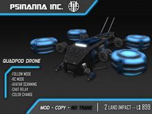 PsiNanna, Inc. Quadpod Drone Pet/UAV