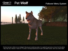 Gaagii - Pet Wolf - Folllowing system