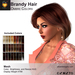 A&A Brandy Hair Ombre Colors Pack. Womens resizable mesh hairstyle