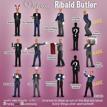 Mutresse - Ribald Butler - Party Animal