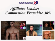 ::CONCORD:: Affiliate Vendors Commission Franchise 30%