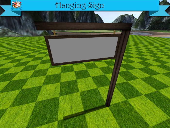 TD Creations - Hanging Sign
