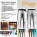 AmAzInNg CrEaTiOnS White -Endless Colors-Male Jean (MAR)