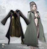 *Sweet Kajira* Chio BLACK Fitted mesh Cape Maitreya(BOX)