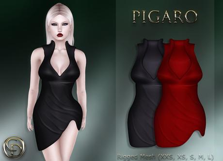 .:CD:. Pigaro Black & Red