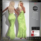 :KR: Monarch Strapless Gown Lights - Spring