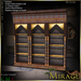 =Mirage= Moroccan Hutch - Wood