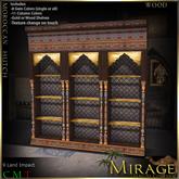=Mirage= Moroccan Hutch - Wood