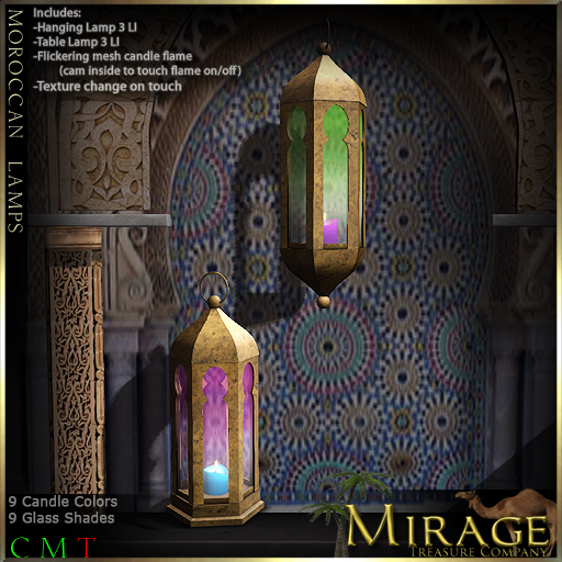 =Mirage= Moroccan Lamps