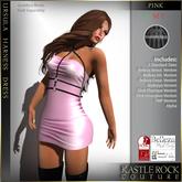 :KR: Ursula Harness Dress - Pink