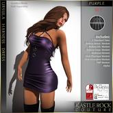 :KR: Ursula Harness Dress - Purple
