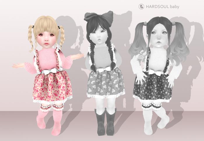 [HD] vestido caipira ROSA- Toddleedoo BABY