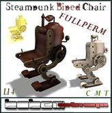 KOKEMSHOP-Fullperm.Steampunk Biped Chair BOX (ADD ME)
